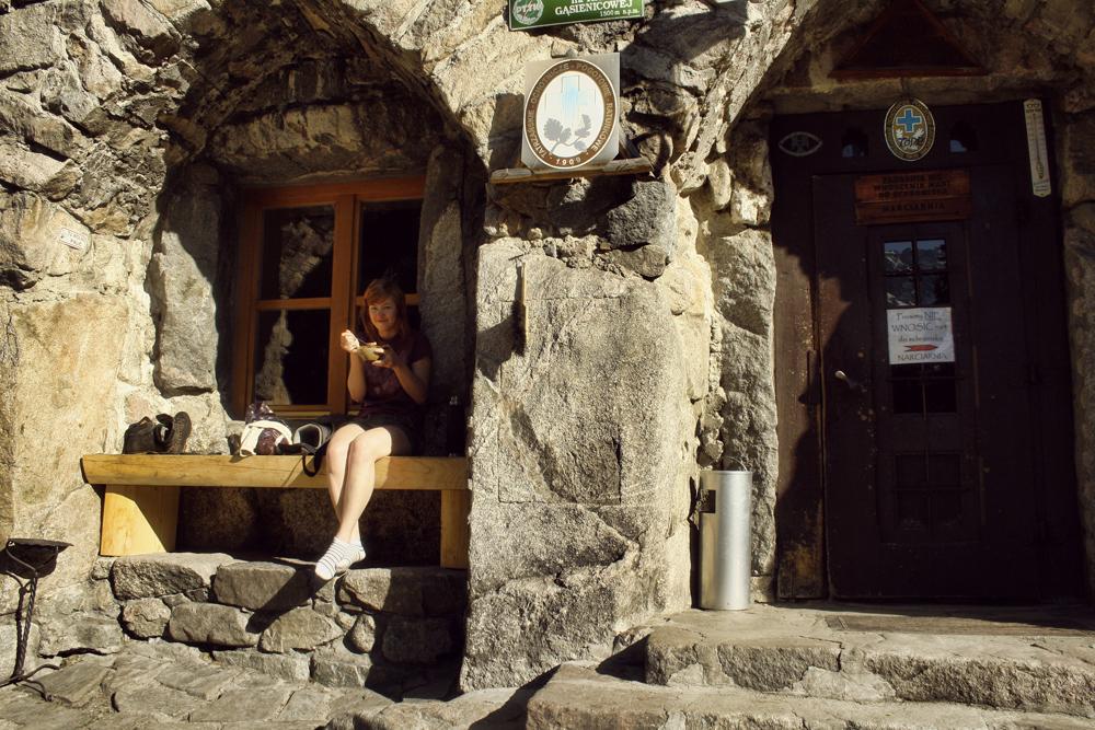 Śniadanie w Murowańcu