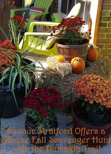 Savour Stratford Offers a Unique Fall Scavenger Hunt with the Pumpkin Trai
