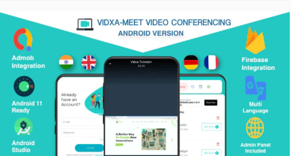 Video And  Audio Conference Call App Source Code