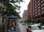 Taking a pic looking towards the Independence hall area