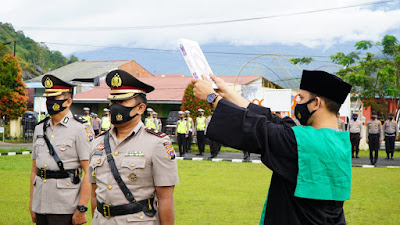 Sertijab Wakapolres Padang Panjang, Alvira Gantikan Hamidi