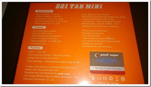 DSC 2723 thumb%25255B2%25255D - 【ビルド台】小型になって進化!「GeekVape 521Tab Mini」ドライバーン&オームメーター【ビルドバッグにコンパクト収納!!】