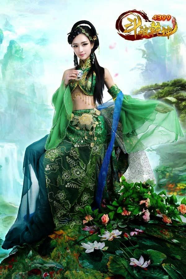 Ngắm vẻ đẹp của các thiếu nữ trong Đấu Phá Càn Khôn - Ảnh 3