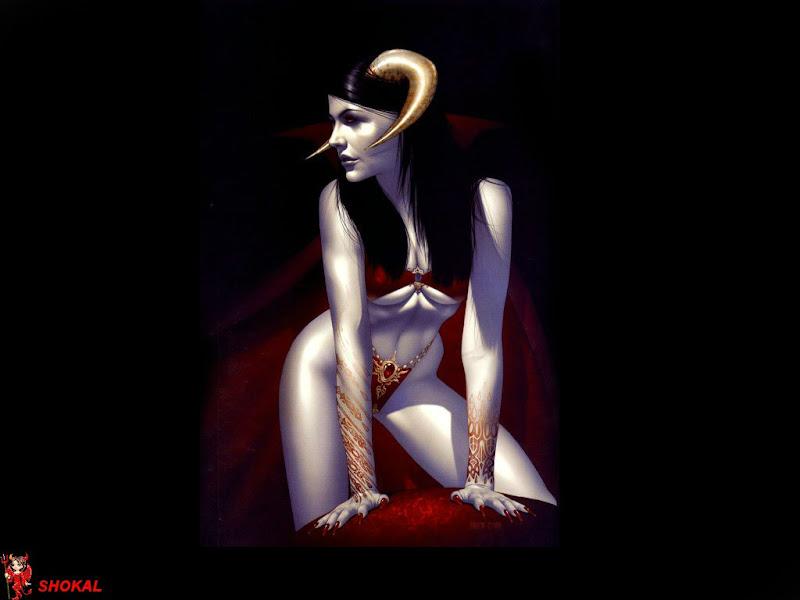 Demoness In A Red Room, Demonesses