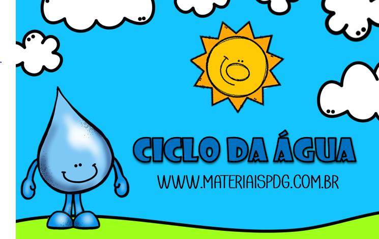 CICLO DA ÁGUA - DOWNLOAD PDF
