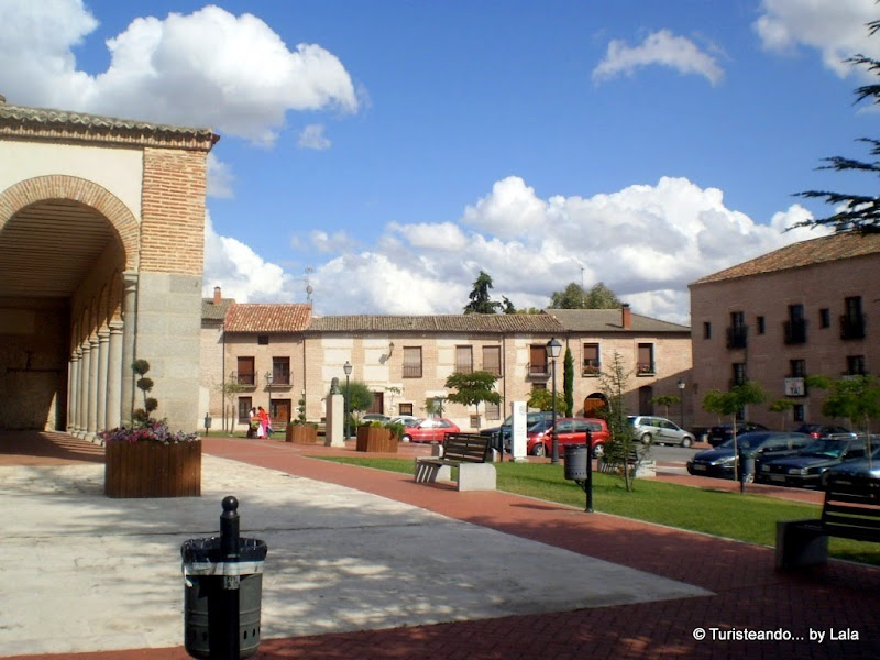 Plaza de Santa María, Olmedo