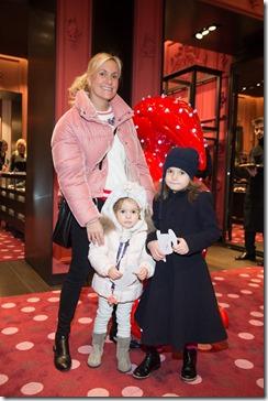 MONCLER ENFANT OPENING EVENT MILANO SPIGA_Giulia Zoppas con Olivia e Madina