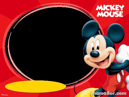 Marco de Fotografías de Mickey Mouse