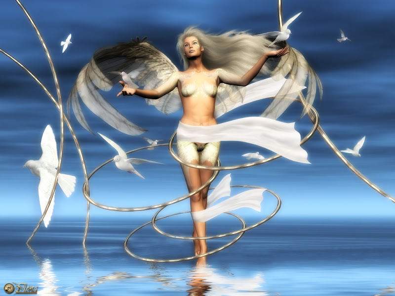 Beauty Of Young Angel, Angels 4