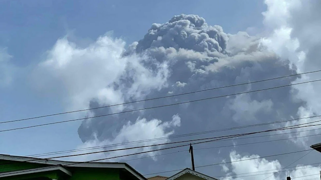 Report: After Volcano Erupts On Caribbean Island, PM Says Only Vaccinated Can Board Evacuation Ships, Others Sent To Safety Elsewhere
