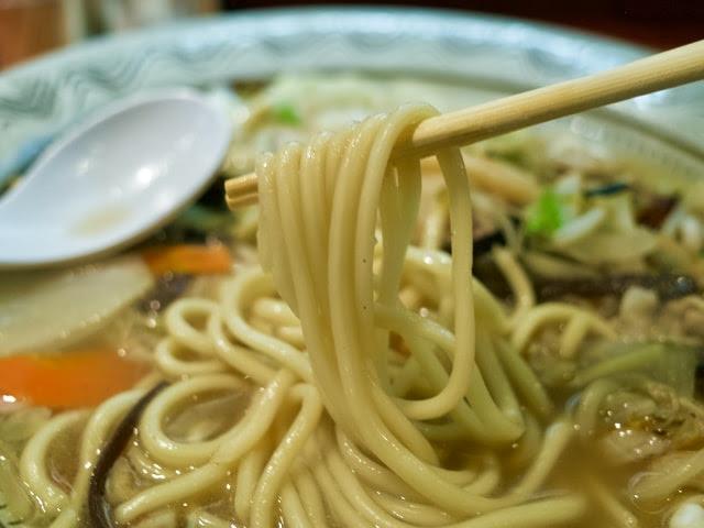 チャンポンの麺