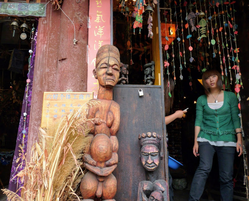 Chine. Yunnan.LIJIANG , Dragon snow mountain,puis lac LUGU - P1230094.JPG