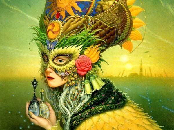Elegant Hunter Beauty, Fantasy Girls 1