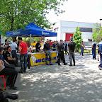Il gazebo del rinfresco offerto dagli organizzatori