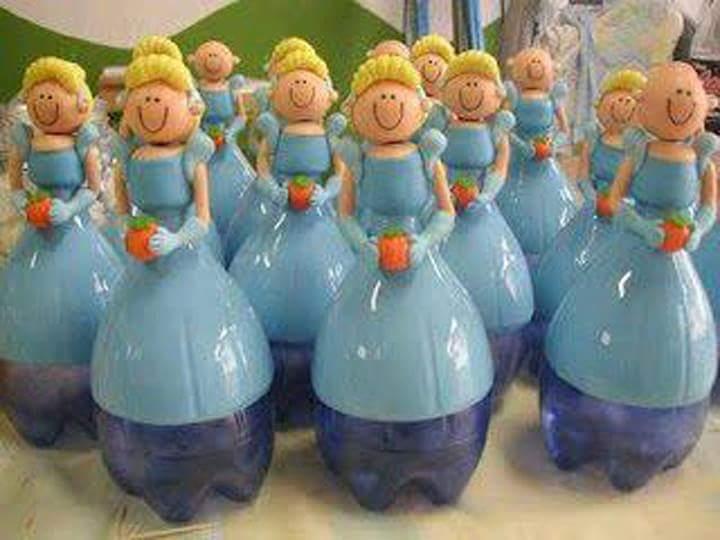 M s y m s manualidades recicla botellas de pl stico para for Decoraciones de botes de plastico