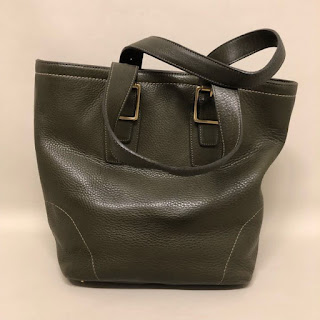 Coach Olive Green Tote