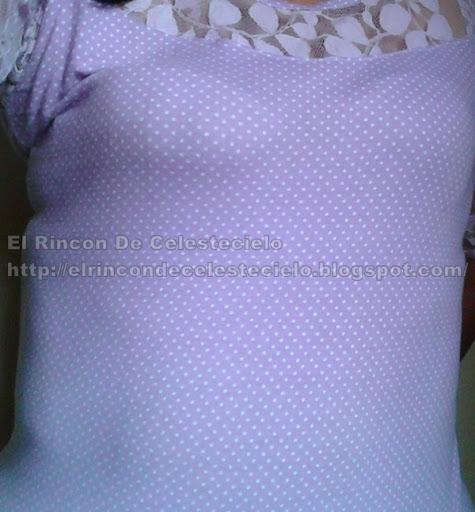 Prenda de viscosa algodón toma la forma del cuerpo al colocársela
