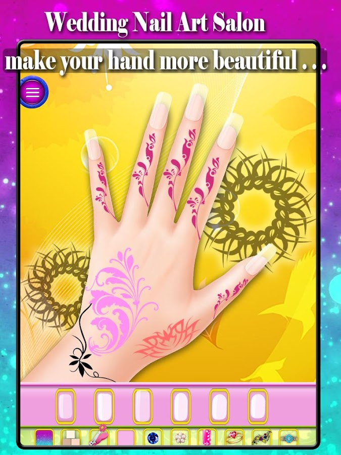 Wedding Nail Art Salon- screenshot