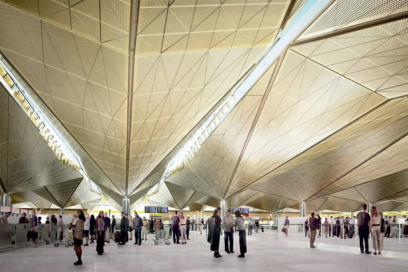 San Pietroburgo, Russia: ST. Petersburg'S Pulkovo Airport by Grimshaw Architects