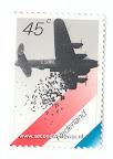 Postzegel, herdenking operatie manna.