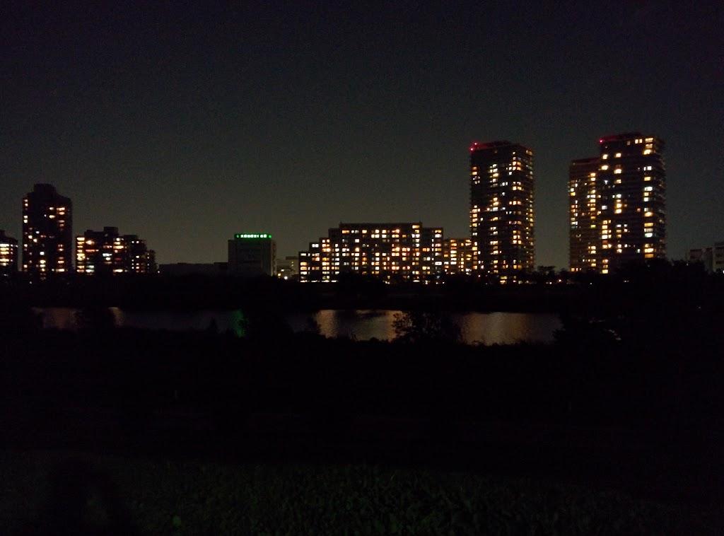 Nexus5カメラによる夜景写真