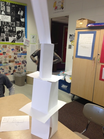 Paper Tower Challenge Andrewbanistercms7