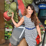 OIC - ENTSIMAGES.COM - Lizzie Cundy at the   Teenage Mutant Ninja Turtles Out Of The Shadows Gala Screening  Vue West End in London  29th May 2016 Photo Mobis Photos/OIC 0203 174 1069