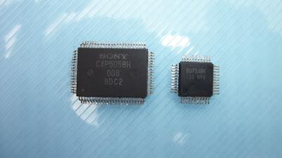 Prueba de microprocesador.