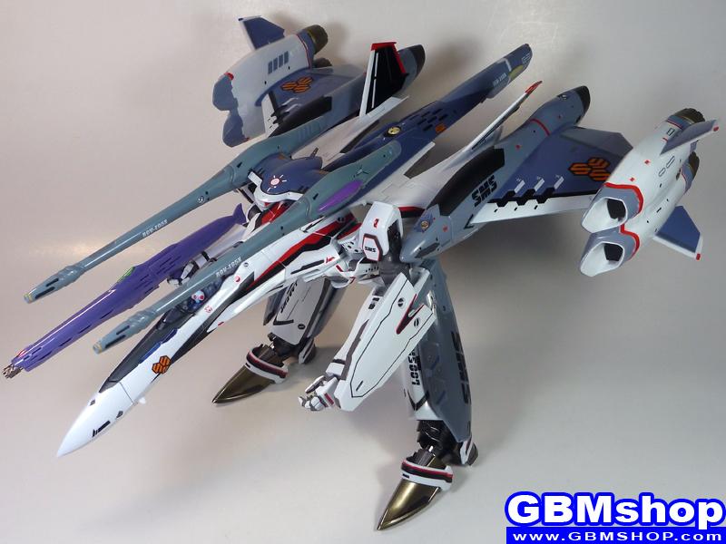 Macross Frontier VF-25F Renewal Version Tornado pack atmosphere use GERWALK Mode