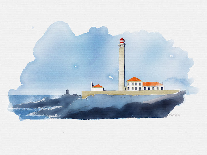 lighthouse 2 made with Sketches