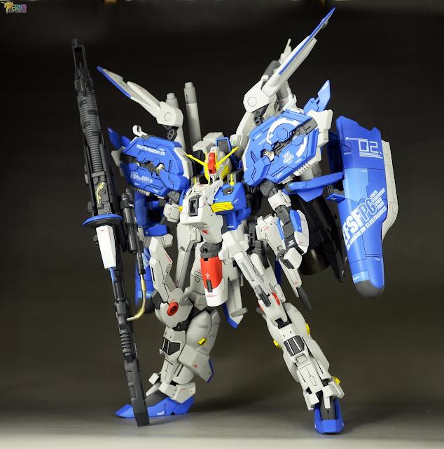 Gundam Family: MG 1/100 EX-S Gundam Custom Build