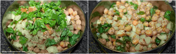 Chick Peas Potato Salad