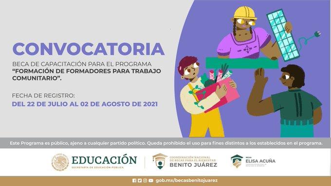 """Beca de Capacitación para el Programa """"Formación de Formadores para Trabajo Comunitario"""""""