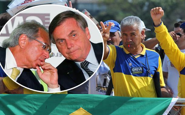 Funcionários dos Correios decidem entrar em guerra contra privatização de Guedes e Bolsonaro