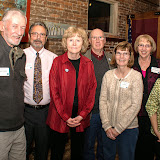 Friends of CMSP Board of Drirectors, L to R, Jack Busher, Steve Johnson, Barb Scott, Glen Scott, Lori O'Hare, Joyce Johnson and Susan Simmons. Missing Pat Cooper