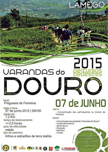 Programa - Varandas do Douro - Ferreiros - 7 de Junho de 2015