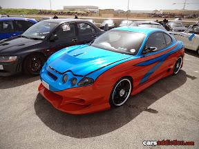 Modified Hyundai Coupe