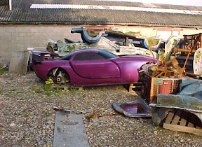 Abandoned TVR Tuscan