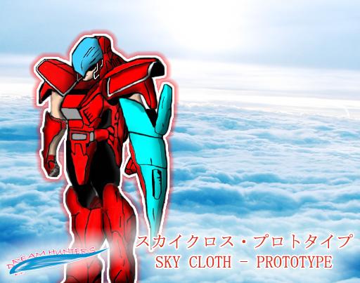 Protótipo da Sky Cloth - Personagem ainda sem nome