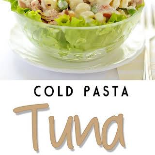 Cold Pasta Tuna Salad.