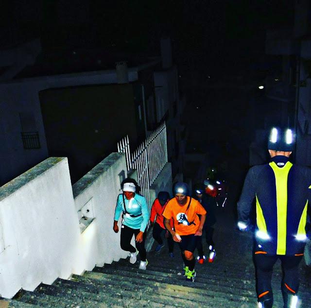 Treino Escada Nazaré