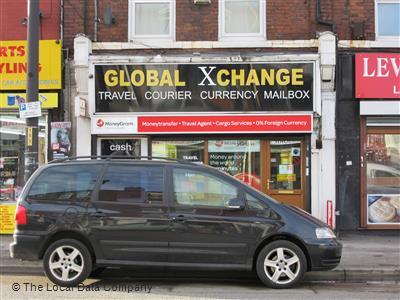 Global xchange on stockport road bureaux de change in city centre