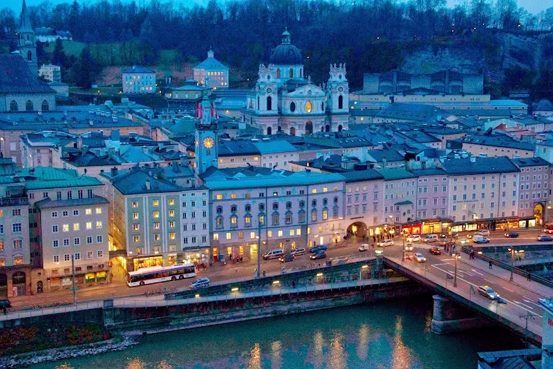 the Salzach River and Salzburg Old Town. Todd Felton: #WorkAbroadBecause you will never be the same