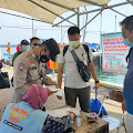 5 Pospam Di Pulau Seribu Bersama Tim KTJ Rapid Tes Wisatawan & Warga Pendatang