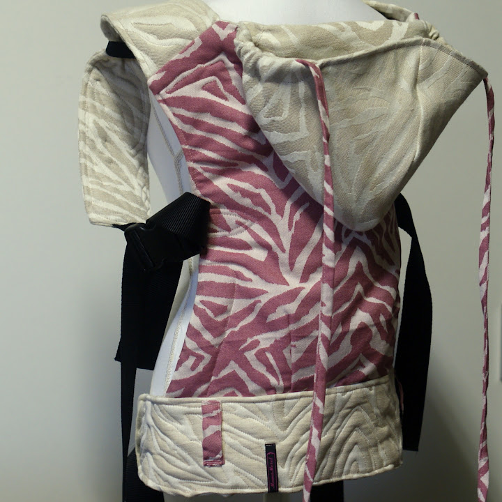 Artipoppe Pink Russian en Albino Tyger tot Reversible SSC