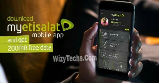 Get Free 200MB Data When You Download MyEtisalat Mobile App
