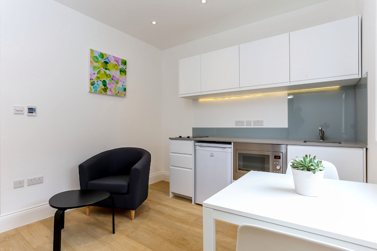 Kitchen at Kings Cross Apartments