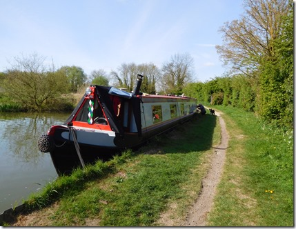 8 moored at linford lakes