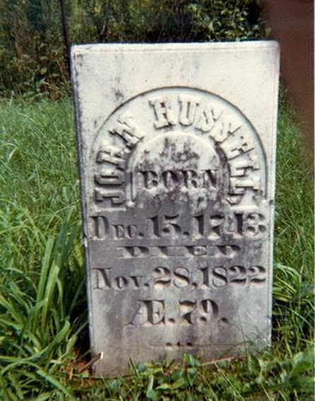 RUSSELL_John_husband of Patience_headstone_RussellCem_Ohio