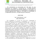 Decizia CNSC din 8 aprilie 2011